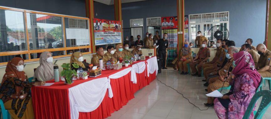 Bupati Lampung Selatan Harapkan Desa Pasuruan Menjadi lebih Mandiri