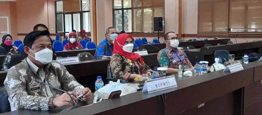 Pemkab Lamsel ikuti Peringatan HAN Secara Virtual Bersama Kementerian PPPA-RI